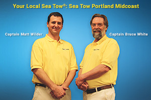Captains Matt Wilder and Bruce White: Sea Tow Portland Midcoast