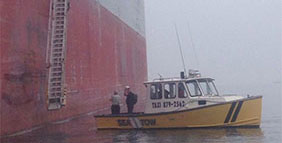 Portland Sea Taxi Ship Launch Services